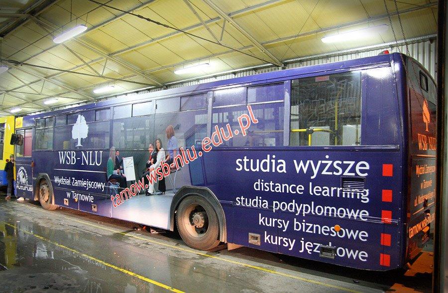 oklejanie autobusów tarnów