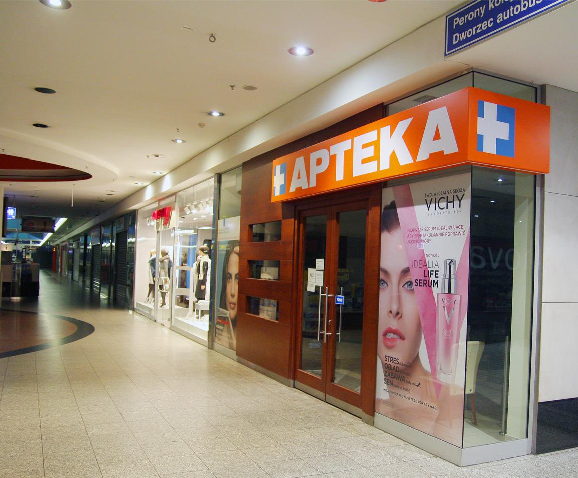 kaseton w galerii krakowskiej doz