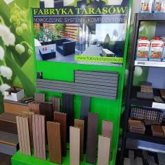 Stojaki reklamowe dla Fabryka Tarasów