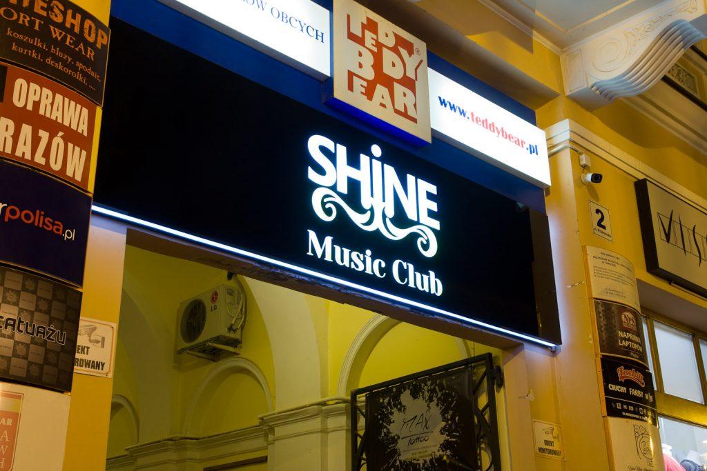 plafon świetlny led dla shine club tarnów