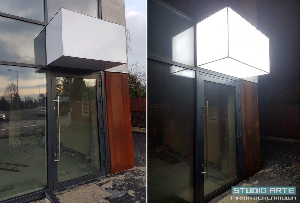 plafon świetlny led cube tarnów krakowska