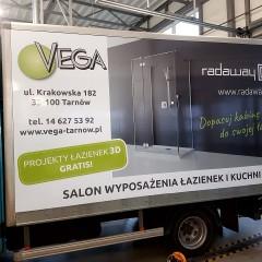 Kompleksowa reklama dla Vega Tarnów