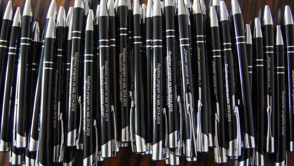 długopisy z nadrukiem tarnów