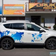 Oklejenie samochodu dla FutureNet