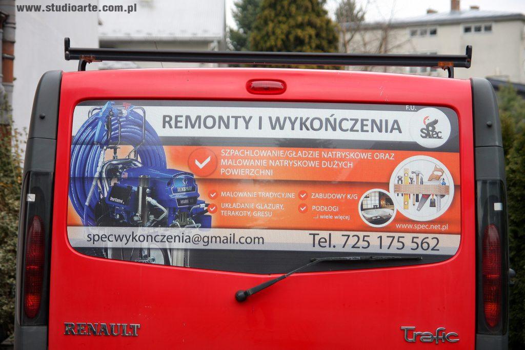 reklama folia na auto