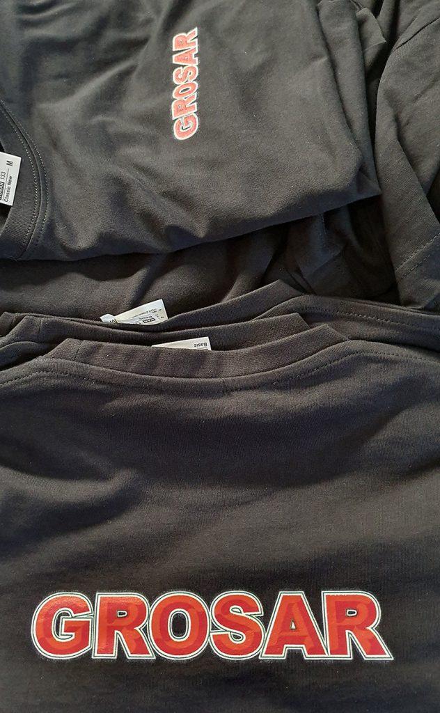koszulki z nadrukiem kornit dla firmy grosar
