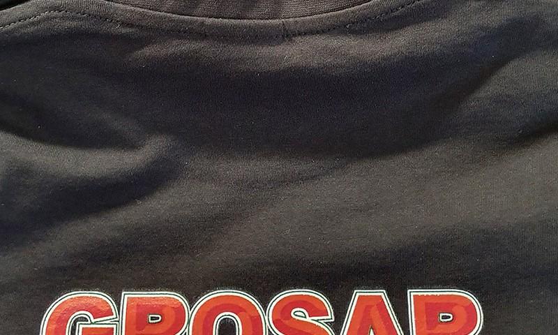 Koszulki z nadrukiem dla firmy Grosar