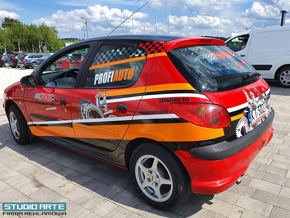 reklama na samochodach Mytnik Tarnów