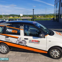 Oklejanie samochodów dla Mytnik Tarnów