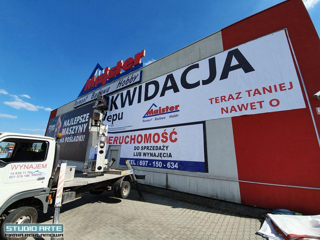 Wykonanie i montaż reklam w Tarnowie