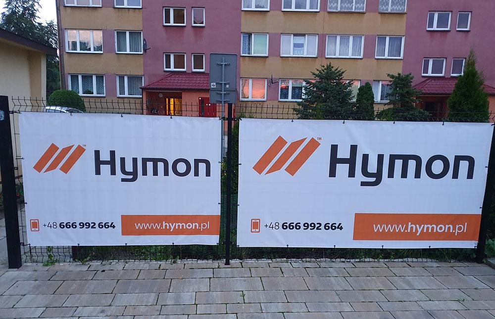 Banery na ogrodzenie dla Hymon Tarnów