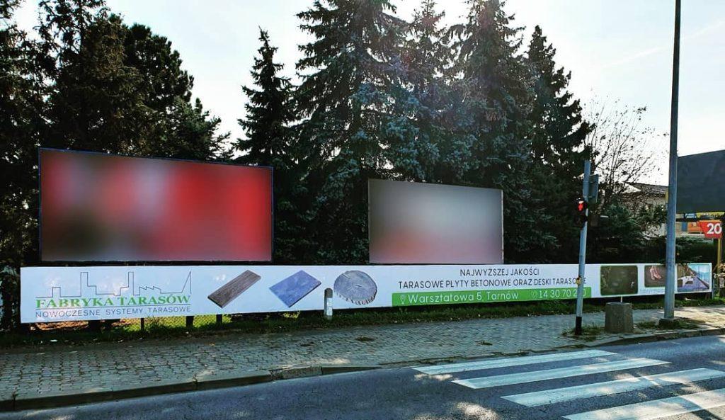 banery reklamowe Tarnów ul. Krakowska Galeria
