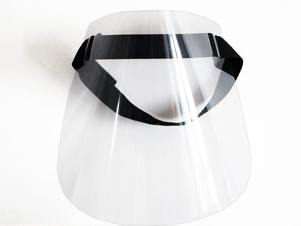 Maska medyczna - przyłbica medyczna front