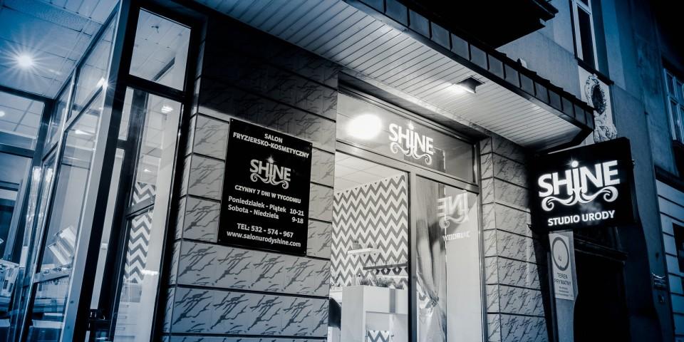 Wykonanie reklam dla Studio Urody Shine