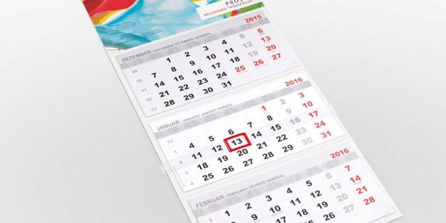 Kalendarze reklamowe 2018