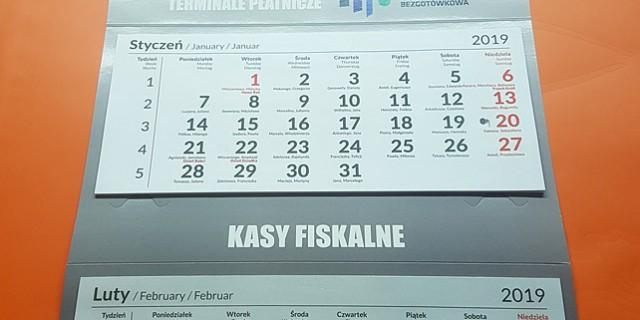 Kalendarze reklamowe 2020