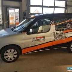 Oklejenie samochodu dla firmy Mytnik